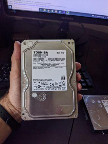 Продам HDD 1tb TOSHIBA  Продам hdd диск обьёмом 1 tb фирмы TOSHIBA