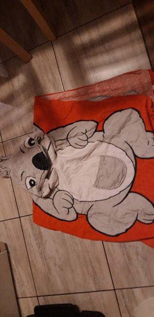 Ręcznik z kapturkiem 4-8 lat