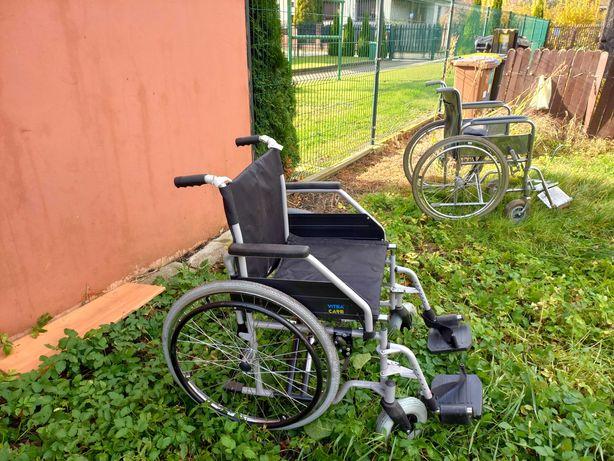sprzedam dwa wózki inwalidzkie w tym jeden vitea care