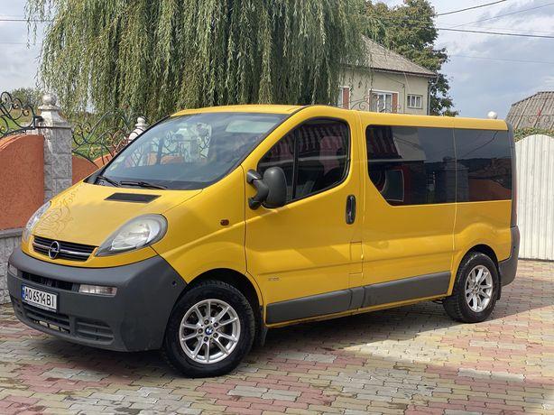 Opel vivaro 8+1 пассажир