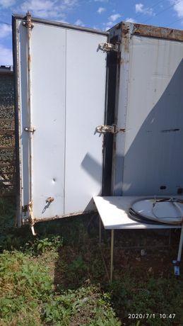 Термобудка с холодильником