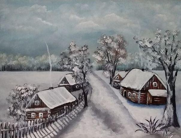 Картина Зимний день