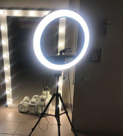 Набор блогера 2 в 1. Кольцевая LED ЛАМПА + ШТАТИВ 2 метра! Яркая!