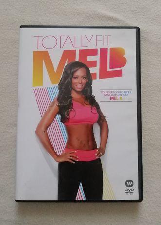 Mel B - Totally Fit płyta DVD z ćwiczeniami język angielski siłownia