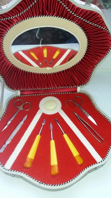 Маникюрный набор -винтаж ГДР (экспорт в СССР).