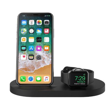 Belkin Ładowarka indukcyjna Apple Watch/iPhone/USB-A czarna