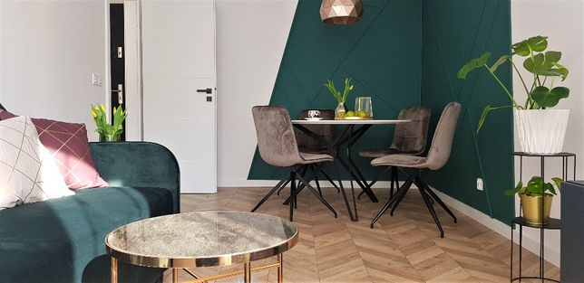 Piękne i wyposażone mieszkanie Szczepin Lubińska - do wprowadzenia