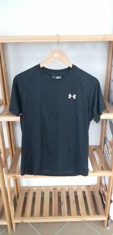 koszulka UNDER ARMOUR czarna rozmiar S/M