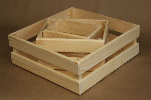 Деревянные ящики. Ящик из дерева