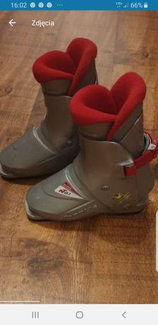 Buty dziecięce/ narciarskie Nordica skorupa 242 mm