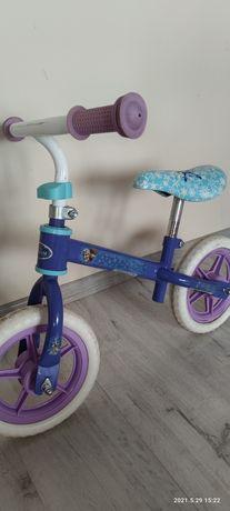 Rower rowerek biegowy bez pedałów dla dziecka kraina lodu FROZEN elza