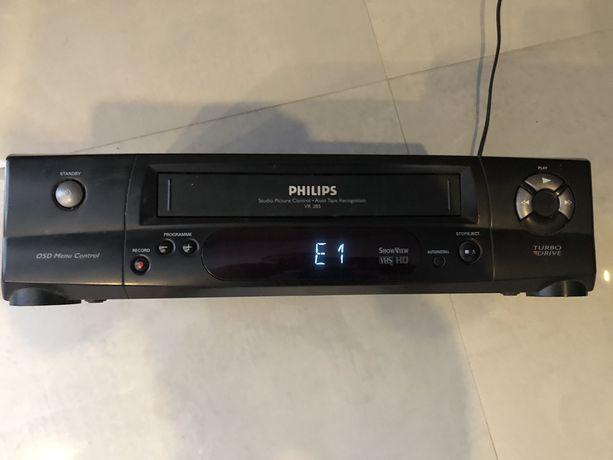 Magnetowid Philips VR 285 z funkcja nagrywania