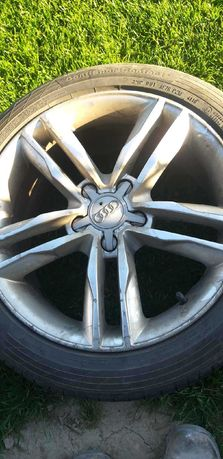 Alufelgi Audi z oponami 225/45 R17 W
