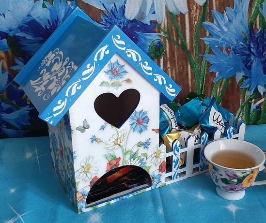 Чайный домик,подарок на день рождения,подарок на 8 марта