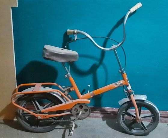 Велосипед советский
