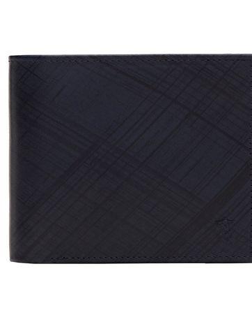 Nowy skórzany portfel Massimo Dutti szczotkowana skóra