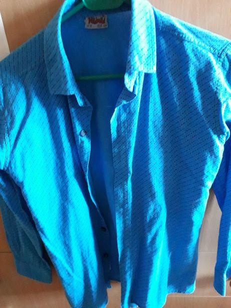 Рубашка 128-134 и вышиванка