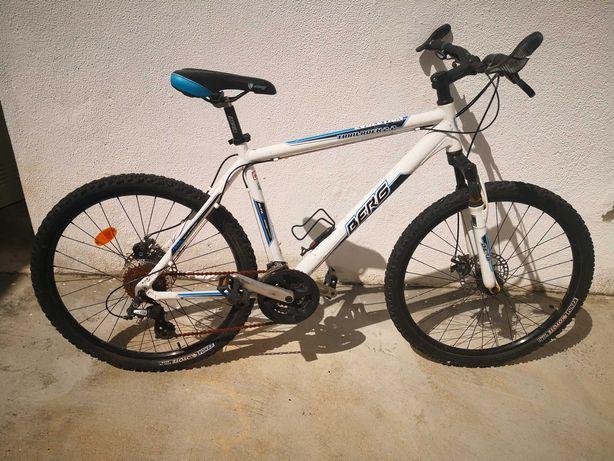 Bicicleta BERG branca e azul