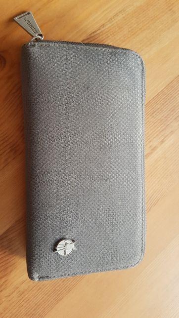 Lassig Green Label portfel duży z etui szary