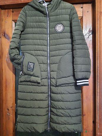Продам куртку длинную
