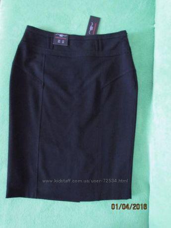 Черная юбка New Look 10 (38р.)