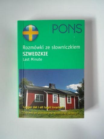 Rozmówki szwedzkie ze słowniczkiem. Last minute. PONS, NOWE