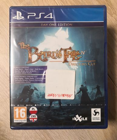Gra The Bard's Tale IV PS4 PL