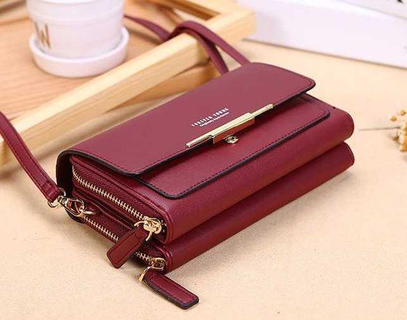 Модная мини сумка - кошелек