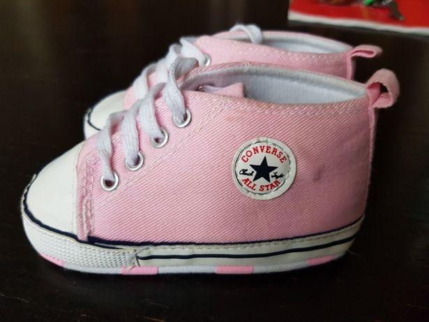 Trampki buciki butki Converse all star dla bobasa