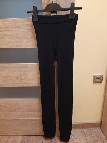 Legginsy czarne rozmiar xl