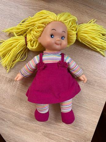 Kукла dolly мягкая с цветными волосами simba