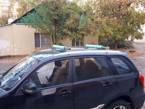 поперечные рейлинги на Tiggo 3, поперечины, багажник