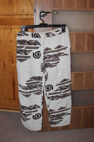 Duży rozmiar przewiewne spodnie damskie jak nowe do sprzedania