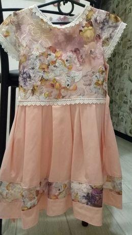 Літні класні плаття для дівчинки 122 р.