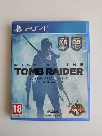 Rise of The Tomb Raider - Edycja 20. rocznica serii PL PS4