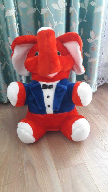 Мягкая игрушка новый большой Слон на подарок