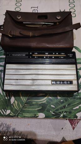 stare Radio z PRL-u selga transistor 7