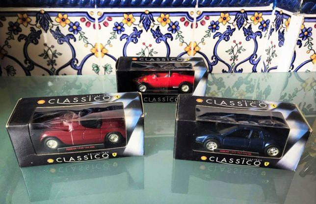 Coleção Galp Shell carros Ferraris classicos