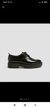 Туфли оксфорды в школу
