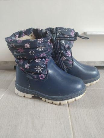 Зимние ботинки зима