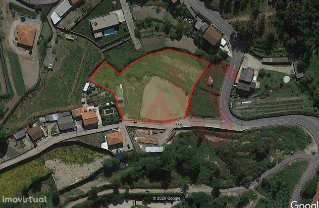 Terreno para construção com 5.500 m2 em São Miguel, Vizela