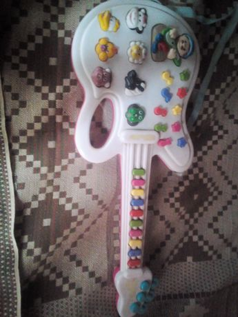 Детская гитара музыкальная