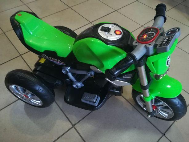 Детский Мотоцикл Электромобиль,свет,звук. супер музыка на SD карте