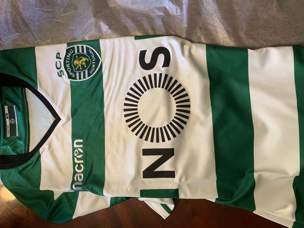 Camisola Sporting oficial Nova