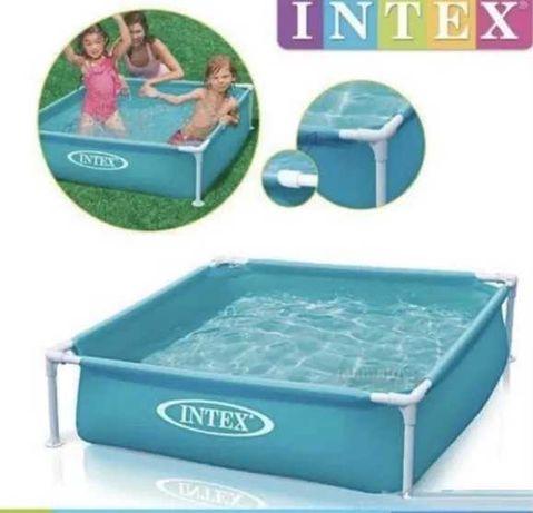 Детский каркасный бассейн Интекс, Intex 57173, 122*122*30 ХИТ 2021!