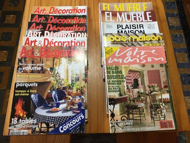 Art et Decoration, El Mueble, Votre Maison Anos 80/90 Decoração