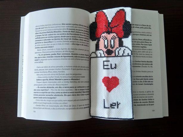 Marcador de Livro Minnie (Novo)