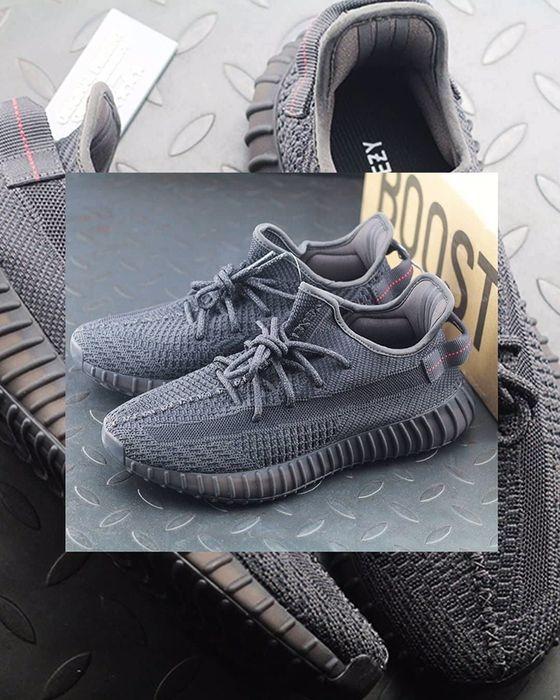 Adidas yeezy 350 v2 static all black Quarteira - imagem 1