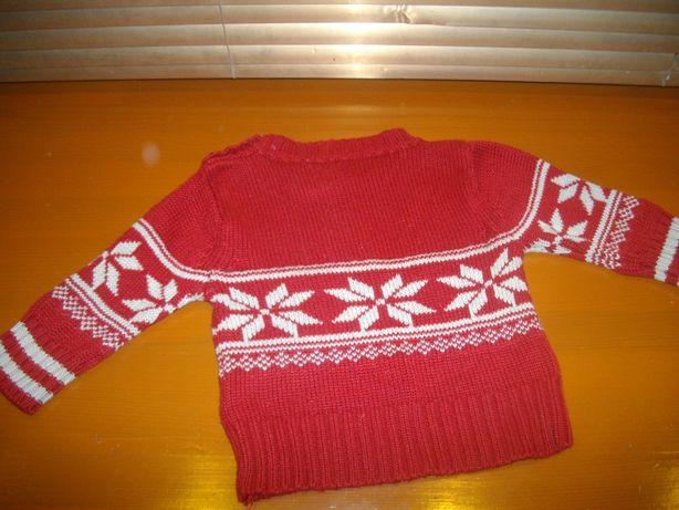 свитерок для ребёнка до года - год