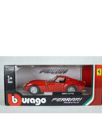 Model Bburago burago Ferrari 250 GTO skala 1:24 nowy model